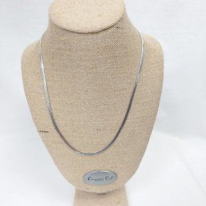 FAS Italy 925 Sterling Silver Necklace